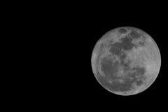 Firest Full Mini Moon 2014 Stock Images