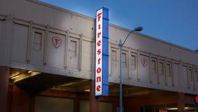Firestone Tire Company Lizenzfreie Stockfotos
