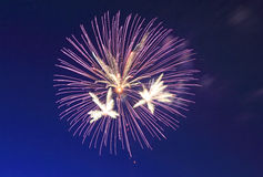 Firesworks στη Νέα Υόρκη Στοκ Εικόνα