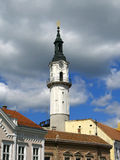 Firetower in Veszprem, Hungary Stock Photography