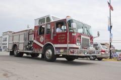 Firetruck 1112 do motor do condado de Pulaski tri Imagens de Stock Royalty Free
