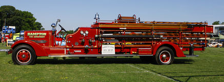Firetruck Fotografering för Bildbyråer