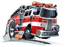 Κινούμενα σχέδια firetruck Στοκ φωτογραφία με δικαίωμα ελεύθερης χρήσης