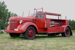 Firetruck. Old firetruck Royalty Free Stock Photography