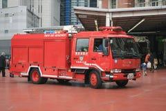 Firetruck-1 Fotografie Stock