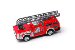 Firetruck. Model on the white background Royalty Free Stock Photos