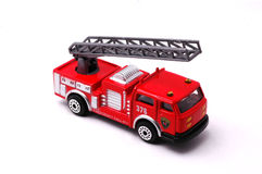 Firetruck. Model on the white background Stock Photography