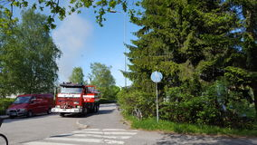 firetruck στοκ φωτογραφία με δικαίωμα ελεύθερης χρήσης