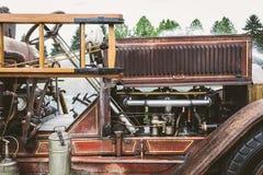 Firetruck antico Immagine Stock