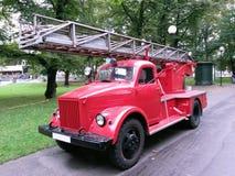 Firetruck de la obra clásica del vintage Imagen de archivo