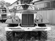 Firetruck de vintage Photos libres de droits