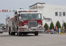 Firetruck 1112 del motor de Pulaski Imagen de archivo