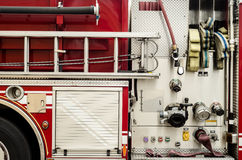 Firetruck equipment Royalty Free Stock Photo