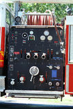 Firetruck instruments Royalty Free Stock Images