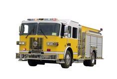 firetruck odizolowane Obraz Royalty Free
