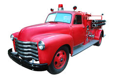firetruck rocznik Fotografia Royalty Free