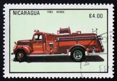Firetruck serie, circa 1983 Royaltyfria Foton