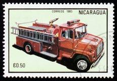Firetruck serie, circa 1983 Royaltyfri Fotografi
