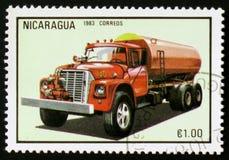Firetruck serie, circa 1983 Arkivfoton