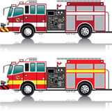 Firetruck Vector Royalty Free Stock Photo