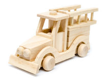 Firetruck Wooden Toy Stock Photos