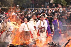 Firewalking Photo stock