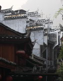 Firewall. Traditional chinese firewall in fenghuang town royalty free stock image