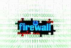 Firewall Stock Image