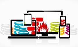 Firewall Stock Afbeeldingen