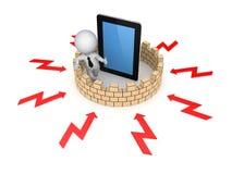 Firewall concept. Stock Photos