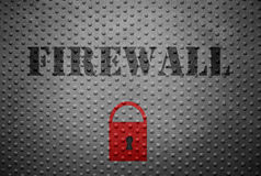 Firewall and lock Stock Images