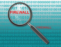 FIREWALL Stock Photography