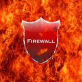 Firewall shield. Illustration with firewall shield on white background Royalty Free Stock Photos
