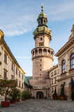 Firewatch torn, Sopron, Ungern Royaltyfria Bilder