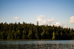 Firewatch tower Royalty Free Stock Photos