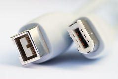 Firewire cable Royalty Free Stock Image