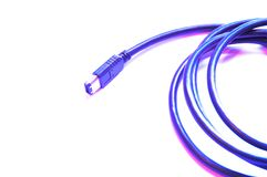 Firewire connection Stock Image