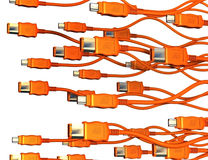 FireWire Swarm Royalty Free Stock Photo