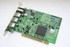 Firewire/USB PCI board Stock Photos