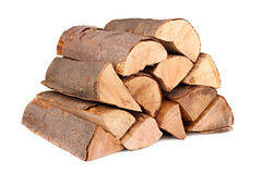 Firewood 1. A stack of nature firewood stock image