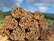 Firewood Stock Photography