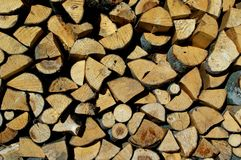 Firewood. Royalty Free Stock Image