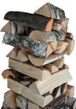 FIREWOOD. Image about a pile of birch firewood stock images