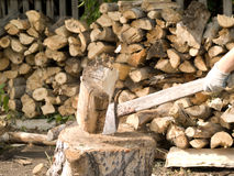 Firewood Royalty Free Stock Photo
