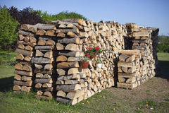 Firewood. Royalty Free Stock Photography