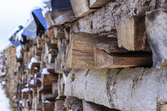 firewood Fotos de Stock Royalty Free