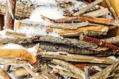 firewood Photographie stock