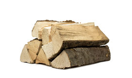 Firewood. Stack of firewood for the stove royalty free stock images
