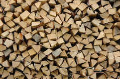 Firewood background Royalty Free Stock Images