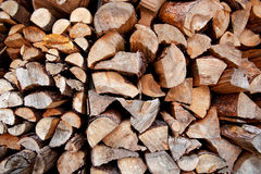 Firewood Background Stock Photos